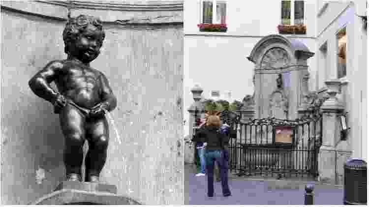 Manneken Pis, em Bruxelas - Pbrundel/Creative Commons - Francisco Antunes/www.flickr.com/photos/vilavelosa/4997900561 - Pbrundel/Creative Commons - Francisco Antunes/www.flickr.com/photos/vilavelosa/4997900561