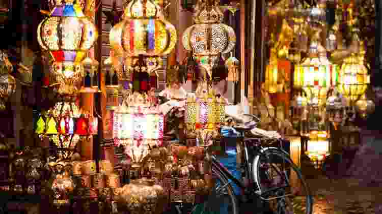 O Mercado de Marrakech, no Marrocos - iStock