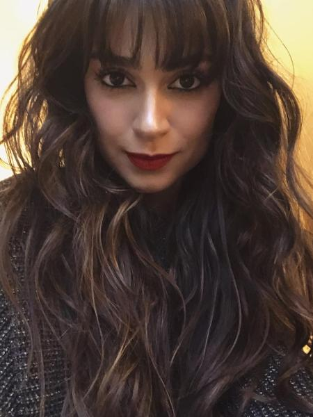 Thaila Ayala adotou a franja para seu próximo papel como atriz - Reprodução/Instagram