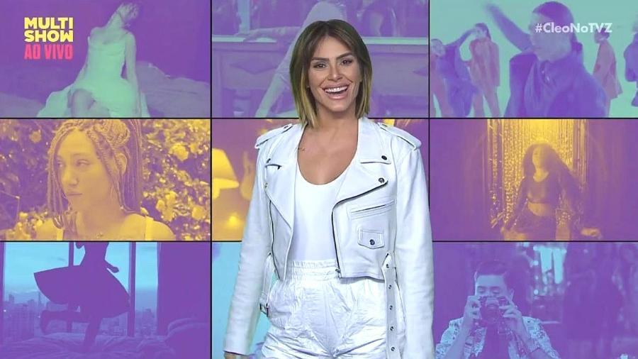 """Cleo Pires apresenta o programa """"TVZ"""", no Multishow - Reprodução/Multishow"""