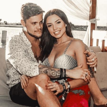 Paula Amorim e Breno Simões - Reprodução/Instagram