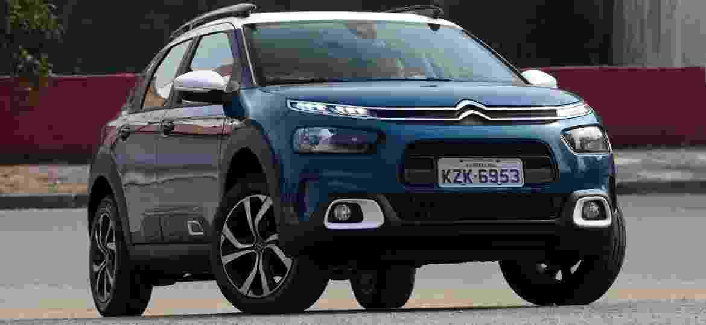 Lançado no fim de 2018, Citroën C4 Cactus foi convertido em SUV pela equipe de marketing da marca francesa no Brasil - Murilo Góes/UOL