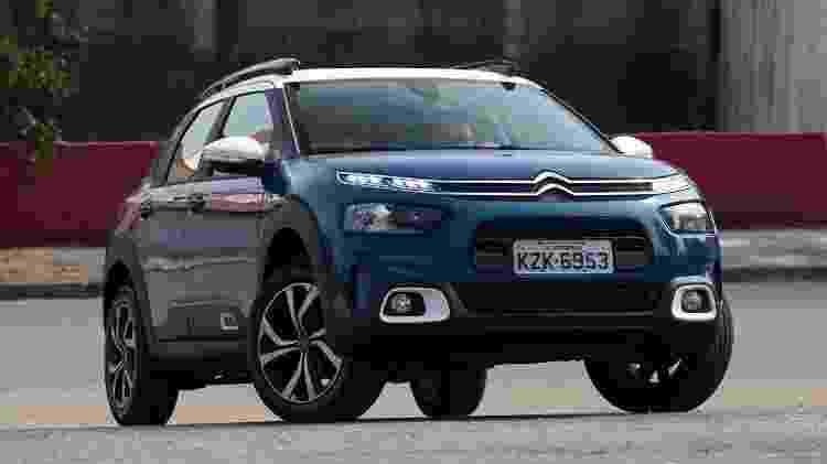 Citroën C4 Cactus é considerado um hatch médio na França; aqui, é SUV compacto - Murilo Góes/UOL