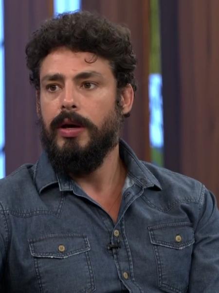 """Cauã Reymond no """"Conversa com Bial"""" - Reprodução/Globo"""