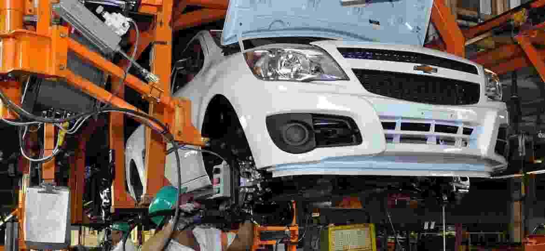 """Fábrica de São Caetano do Sul (SP) da General Motors, uma das unidades """"ameaçadas"""" por baixa lucratividade - Divulgação"""