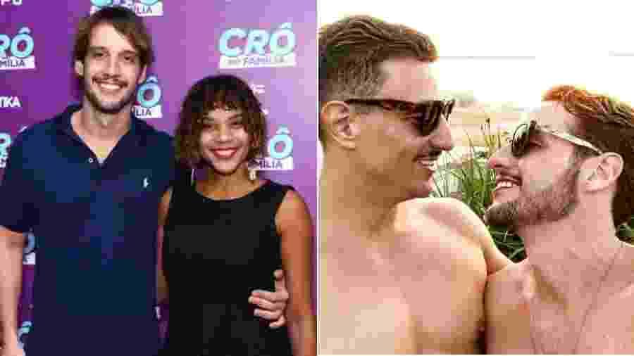"""Ex-namorado de Aparecida Petrowky, Diogo D""""Avila assume namoro com advogado - Roberto Filho/Brazil News/Reprodução/Instagram"""