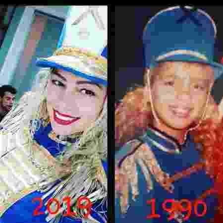 No livro, Catia relembra o tempo em que foi a paquita Miuxa no Xou da Xuxa - Reprodução/Instagram/@catiapaganote - Reprodução/Instagram/@catiapaganote