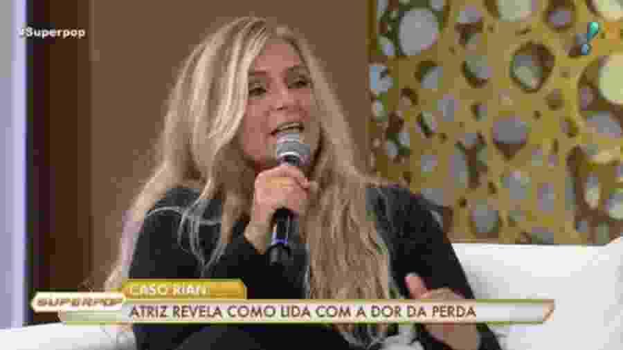 """Brita Brasil participa do """"Superpop"""" - Reprodução/RedeTV!"""
