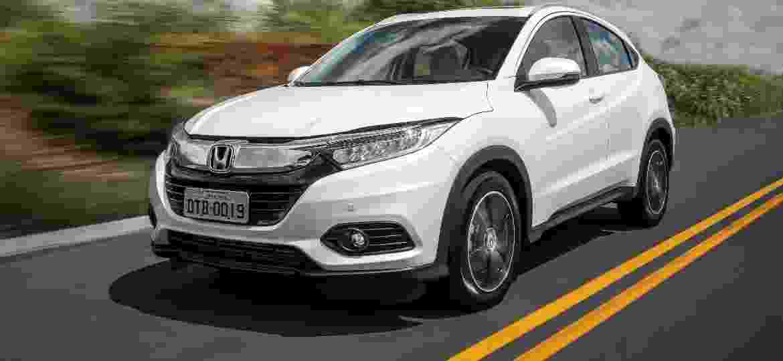 Honda HR-V Touring traz o mesmo motor 1.5 turbo com injeção direta de gasolina e 173 cv do Civic topo de linha - Divulgação