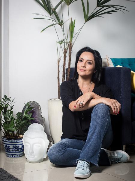 A jornalista Izabella Camargo  - Lucas Seixas/UOL