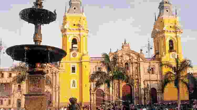 Catedral de Lima - Divulgação
