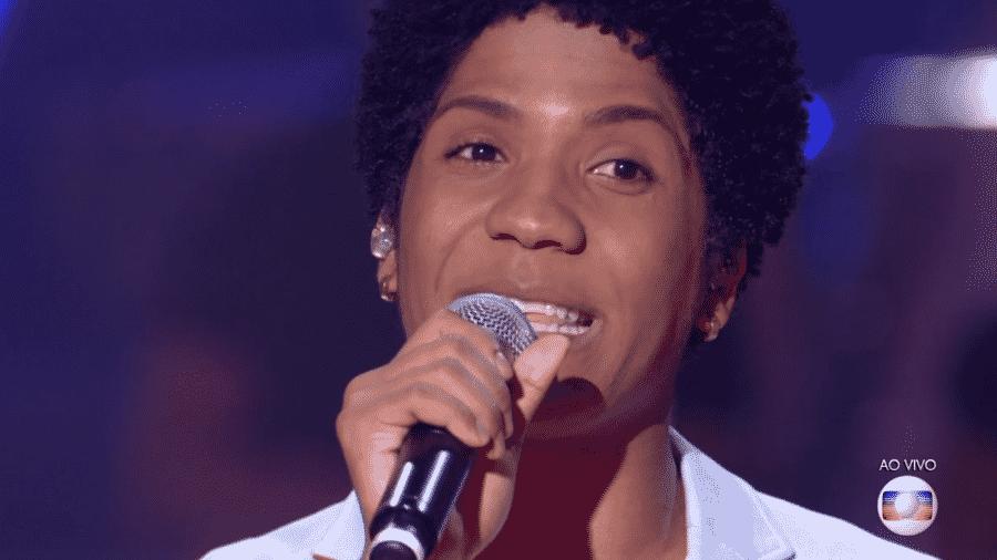 Samuel Marques, no The Voice Brasil - Reprodução/TV Globo