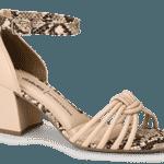 Sandália com tira no tornozelo - Divulgação
