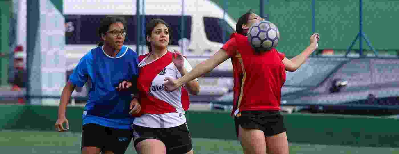 Treino do Joga Miga, grupo de futebol feminino - Amanda Perobelli/UOL