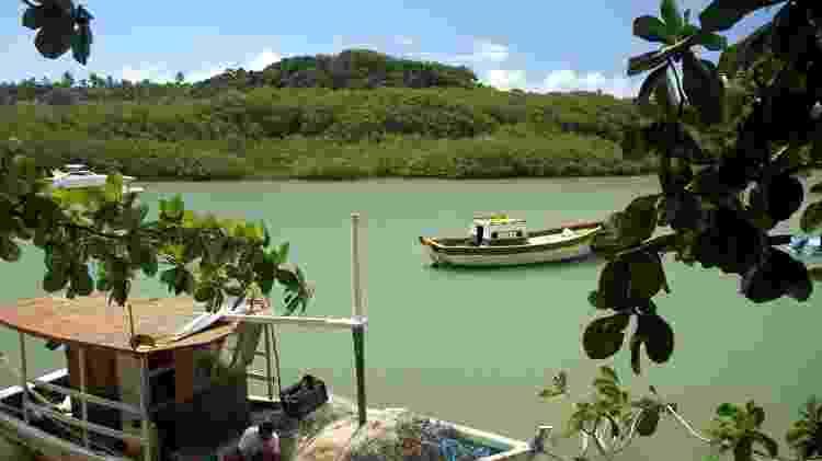 Caraíva, distrito no extremo sul de Porto Seguro  - Eduardo Vessoni/UOL