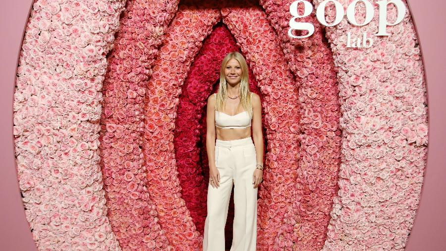 Gwyneth Paltrow durante exibição especial da série The Goop Lab - Rachel Murray/Getty Images/AFP