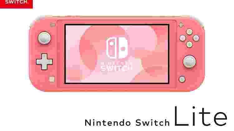 Ninteno Switch Lite versão portátil - Divulgação/Nintendo - Divulgação/Nintendo