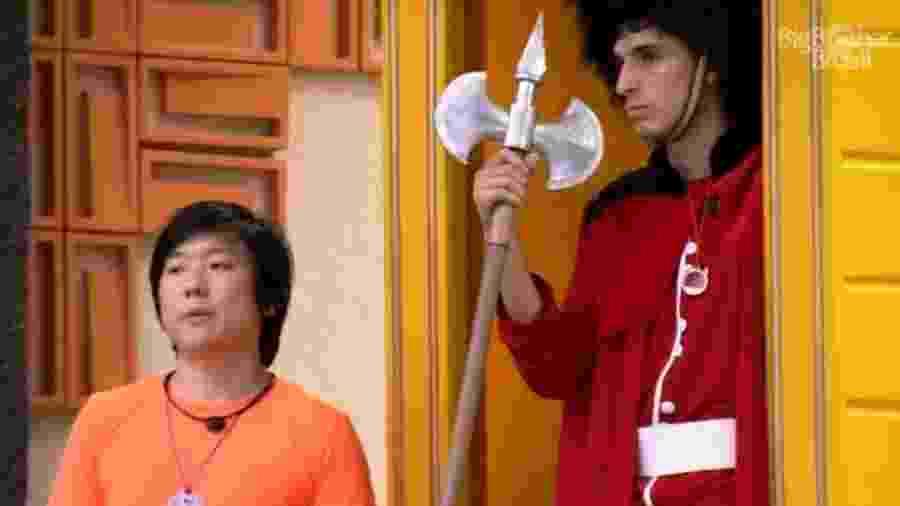 BBB 20: Pyong e Felipe Prior - Reprodução/Globoplay