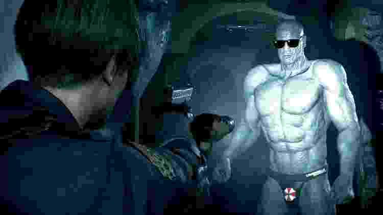 Mr. X em trajes mínimos: mais um mod de Resident Evil 2 nos PCs - Reprodução/YouTube