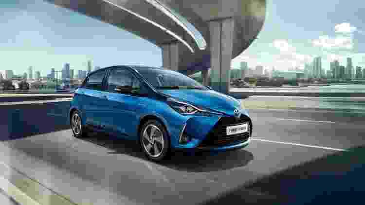 Novo Toyota Yaris europeu 1 - Divulgação - Divulgação