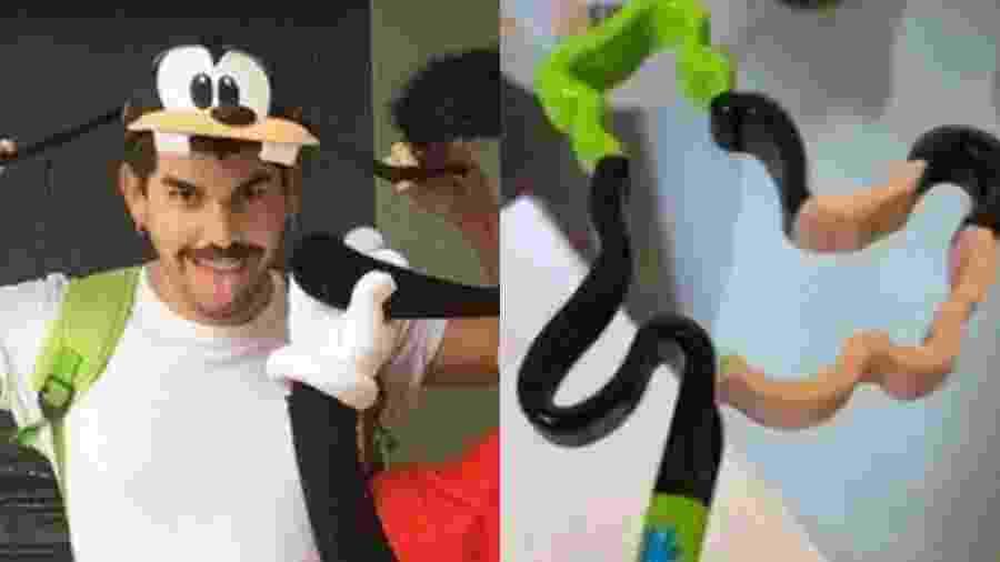 Mateus Carrilho diz que roubou gifts na Disney - Reprodução/Instagram