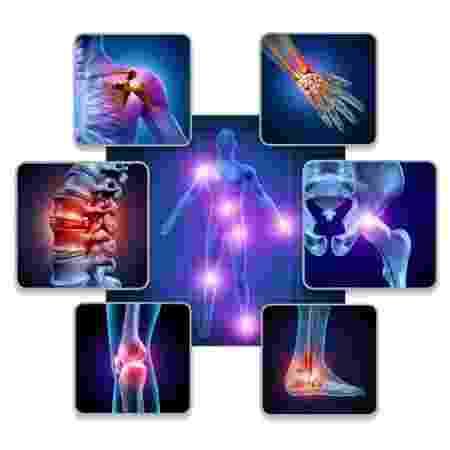 Articulações do corpo humano - iStock - iStock