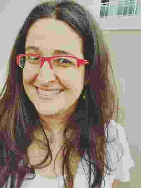 Anahí Guedes de Mello é antropóloga com mestrado e doutorado na UFSC e surda desde a infância. - Acervo pessoal - Acervo pessoal