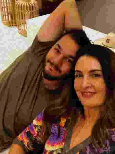 Fátima Bernardes e Túlio Gadêlha juntinhos - Reprodução/Instagram