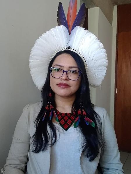 Samara Pataxó tem 31 anos e atua em defesa dos povos indígenas no STF  - arquivo pessoal