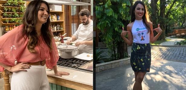 Patrícia Poeta perde 10 quilos em poucos meses com dieta alimentar e exercícios físicos - Divulgação/TV Globo/Reprodução/Instagram