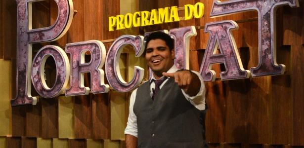 """O humorista Paulo Vieira é integrante do """"Programa do Porchat"""" - Antonio Chahestian/Divulgação/TV Record"""
