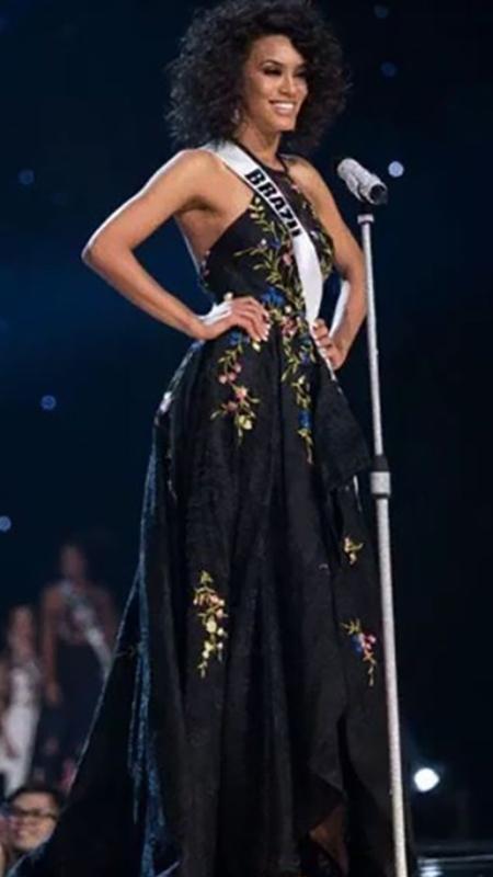 Raissa Santana durante uma das etapas do Miss Universo 2016 - Reprodução/Instagram