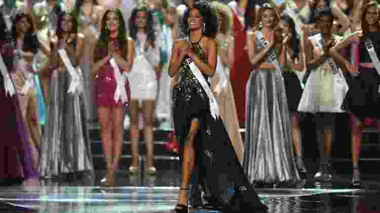 Raissa Santana chegou ao top 13 do concurso de Miss Universo - AFP - AFP
