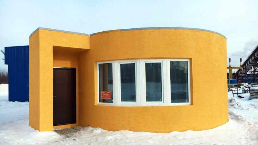Casa feita por impressora 3D - Divulgação