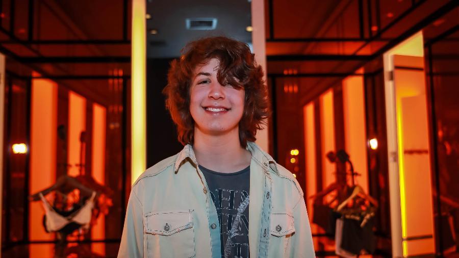 Lucas Jagger posa para fotos em evento da grife John John em São Paulo - Raphael Castello/AgNews