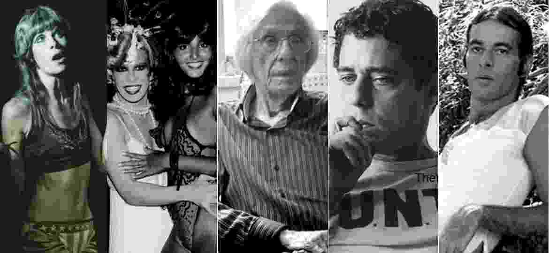 Artistas fotografados por Thereza Eugênia entre os anos 70 e 80 no Rio de Janeiro - Thereza Eugênia