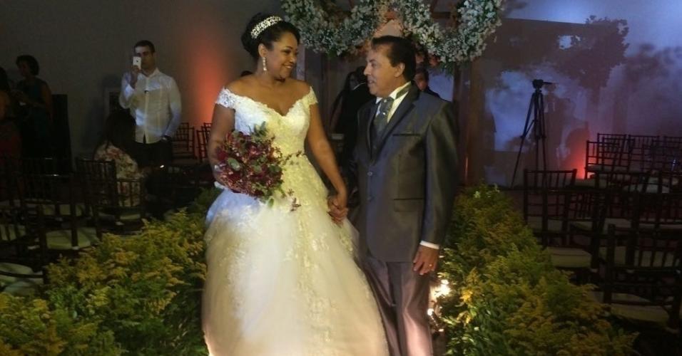 Elis e Luiz Carlos se casam um espaço batizado de Reality Festa, dentro de um evento de noivas, a Expo Noivas & Festas, num centro de convenções, no Rio