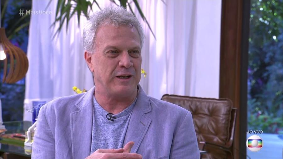 """Pedro Bial é entrevistado no """"Mais Você"""" - Reprodução/Globo"""