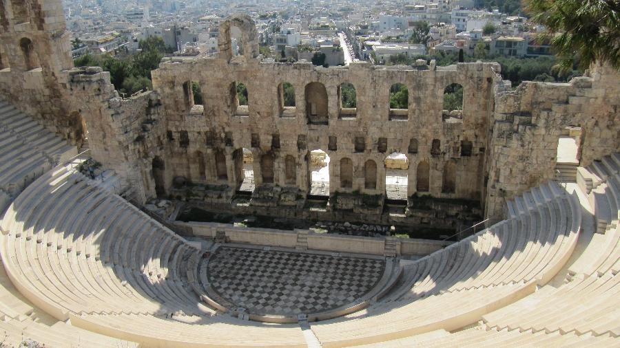 Odeão de Herodes Ático, em Acrópolis  - Divulgação