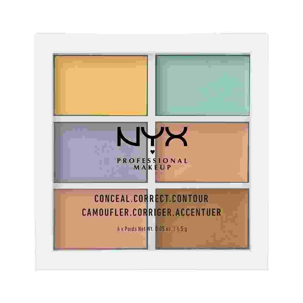 3C Palette (Conceal, Correct, Contour), R$ 55, NYX, nyxcosmeticos.com.br - Divulgação