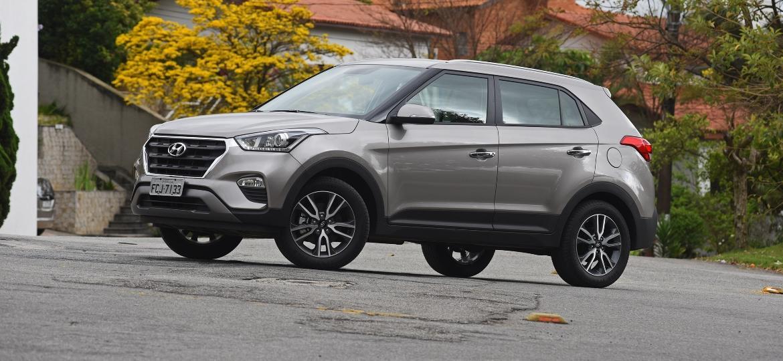 Hyundai Creta: terminando um mês pela primeira vez como SUV compacto mais vendido do Brasil - Murilo Góes/UOL