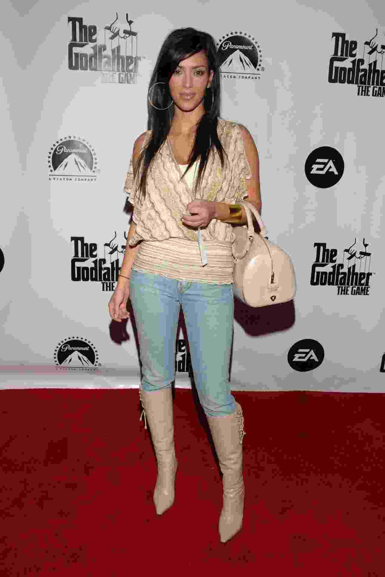 Kim Kardasian em 2006 - Getty Images