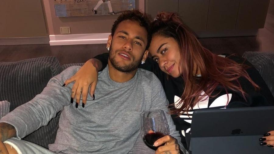 Rafaella Santos ao lado do irmão, Neymar - Reprodução/Instagram/neymarjr
