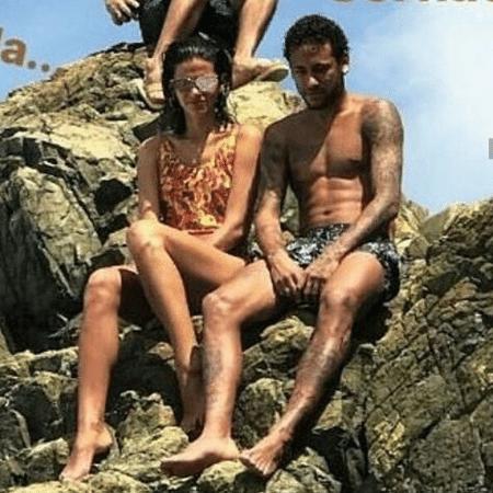 Bruna e Neymar se reconciliaram durante o Réveillon, em Fernando de Noronha - Reprodução/Instagram
