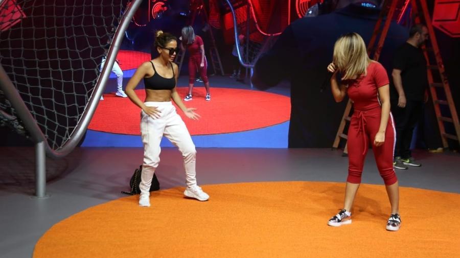 Anitta grava com Lexa para seu novo programa no Multishow - Divulgação