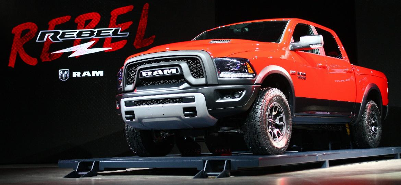 "RAM 1500 será importada ainda neste ano para atender ""segmento de nicho"" - Jonathan Knight/AFP"