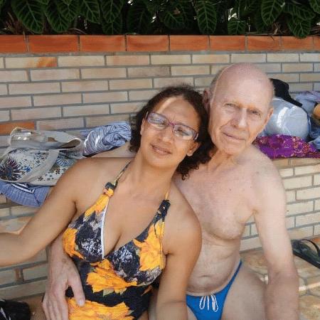 Bernadete Strasser e seu marido, Willy Strasser - Arquivo Pessoal