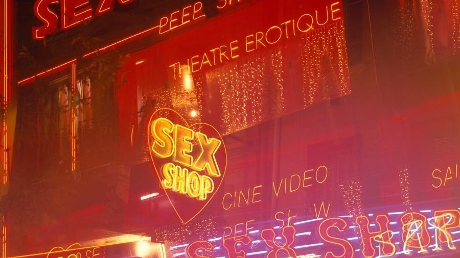 Sex shops ao longo dos anos - Getty Images