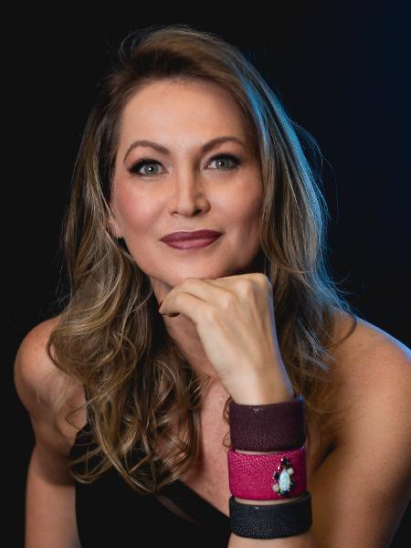 A ex-assistente de palco de Faustão, Adriana Colin - Andrei Naufel/Divulgação