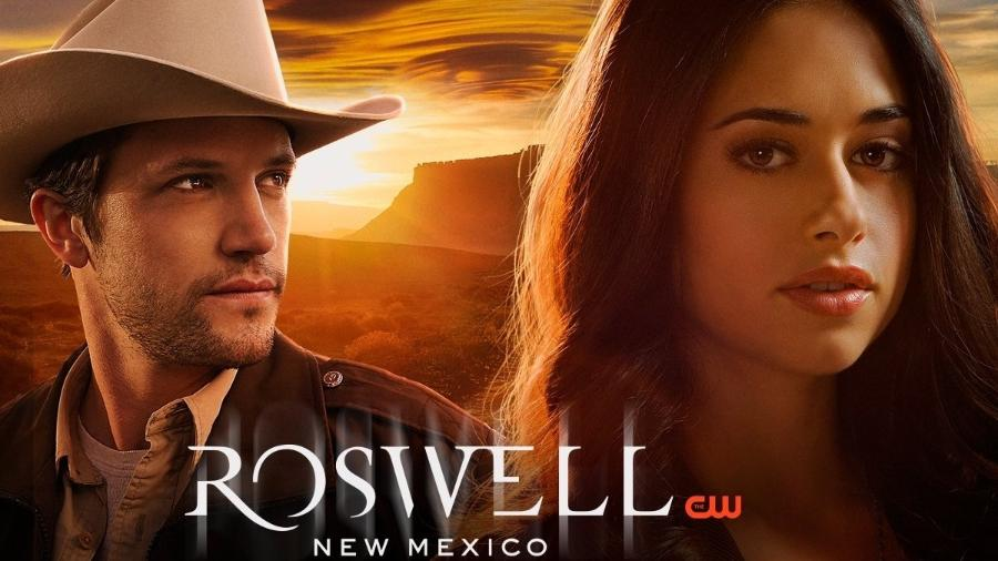 """Cartaz de """"Roswell, New Mexico"""" - Divulgação"""